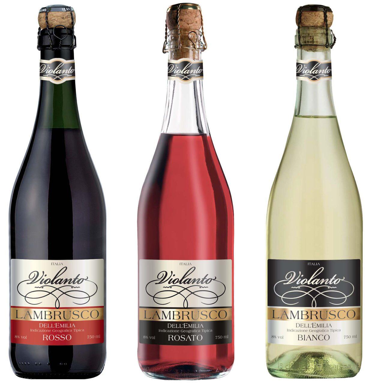 вино ламбрусо бланк